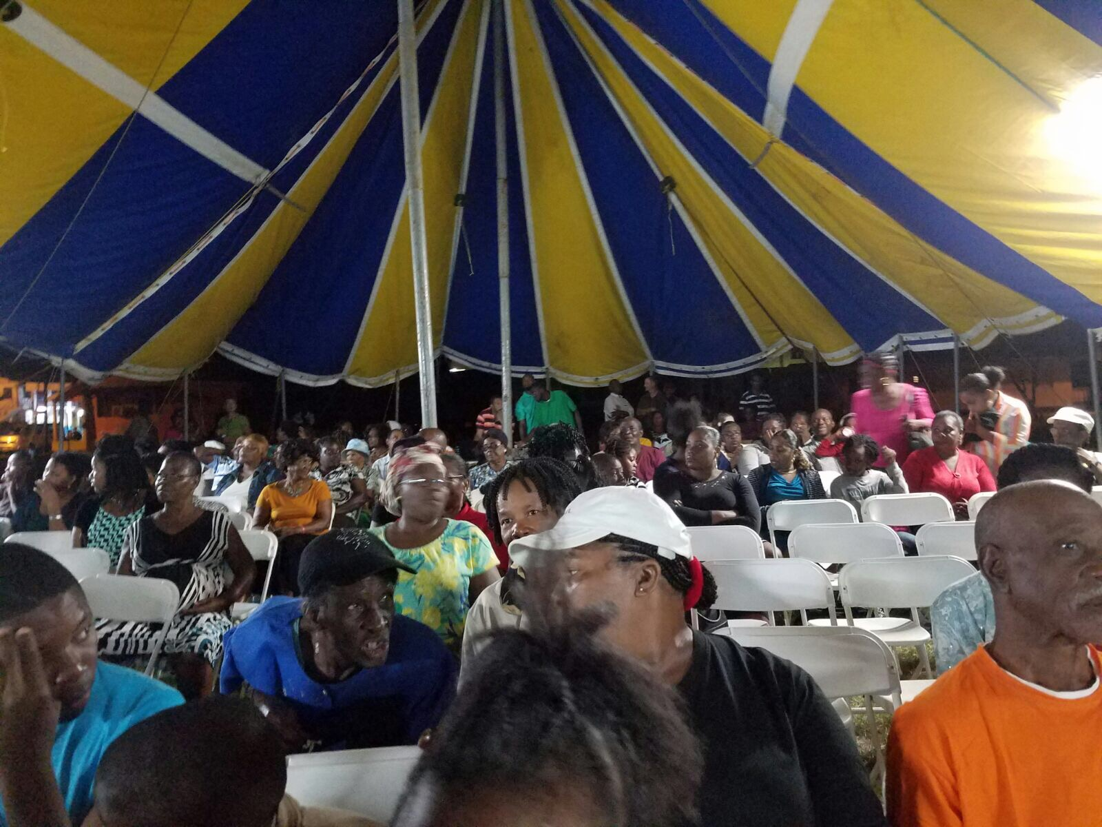 TENT CRUSADE in DOMINICA