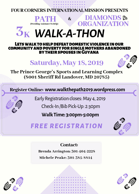 Walk-A-Thon for PATH and DIAMONDS